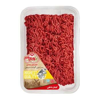 گوشت چرخ کرده مخلوط گوسفند با گوساله ممتاز رويال طعم - 900 گرم