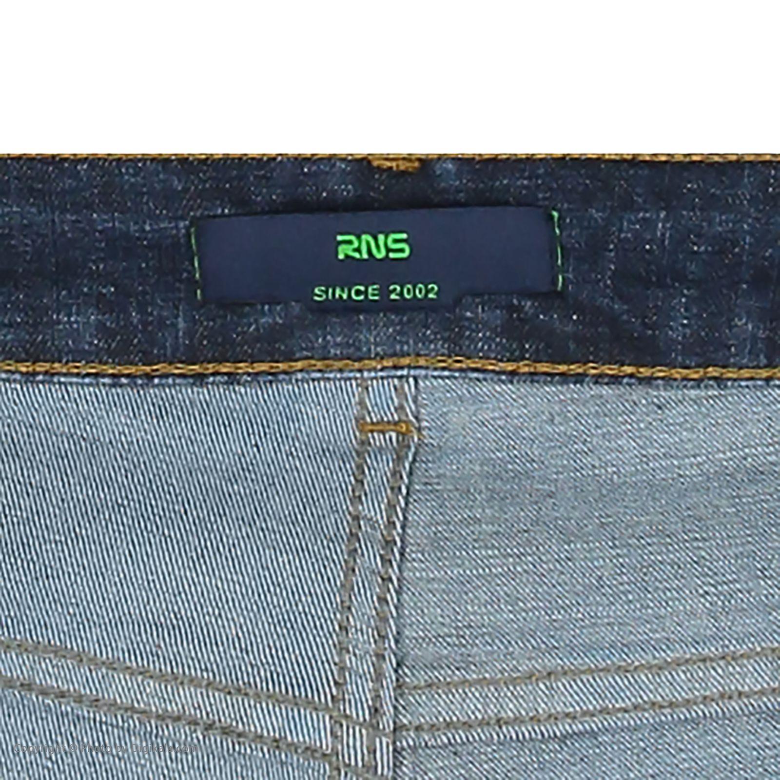 شلوار جین مردانه آر ان اس مدل 133033-59 -  - 6