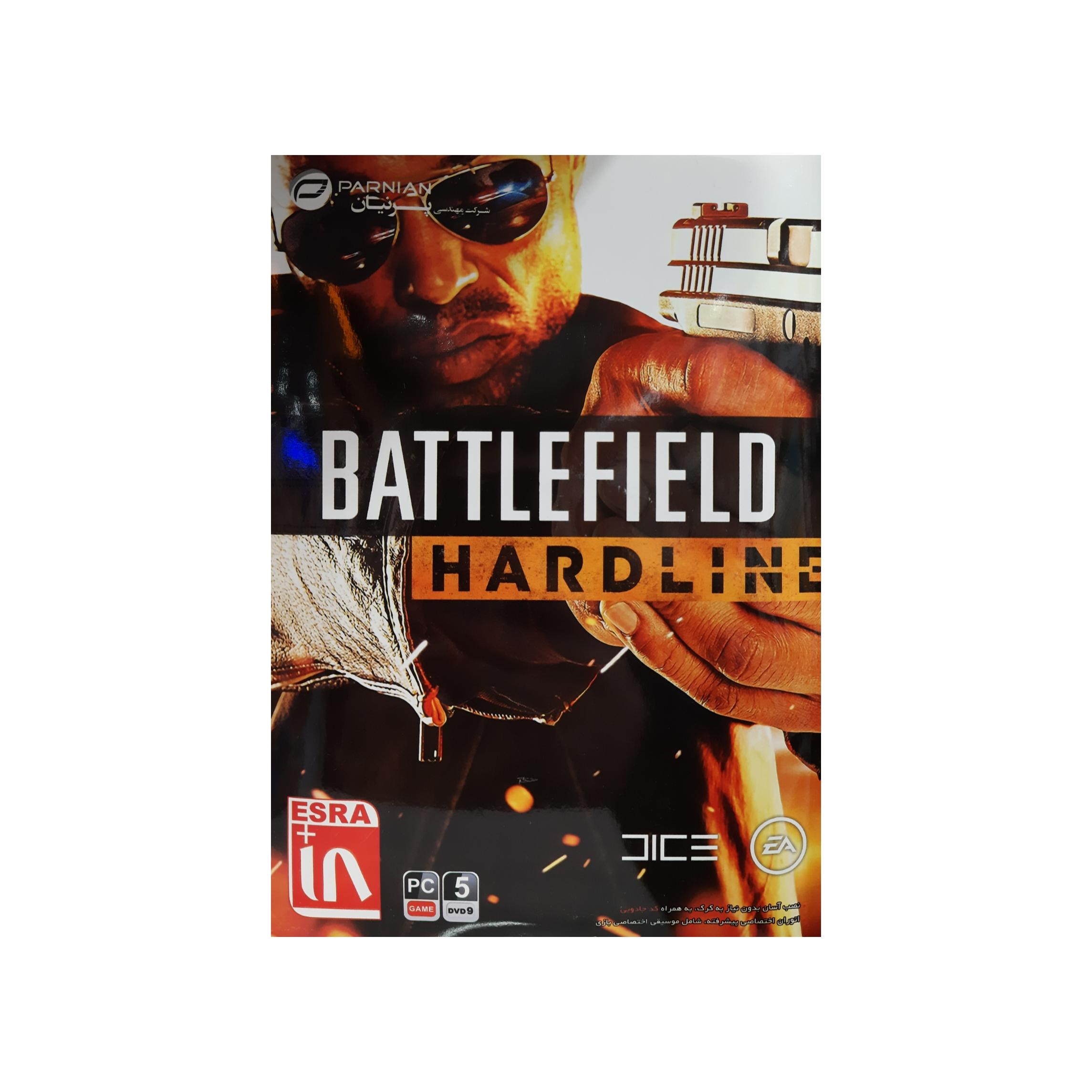 بازی Battlefield hardline مخصوص pc