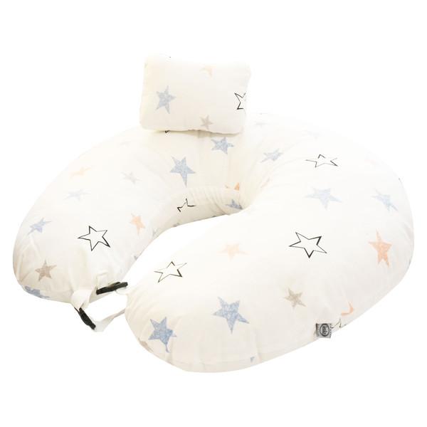 بالش شیردهی ایسیز طرح ستاره کد Is522.6 به همراه بالش سر