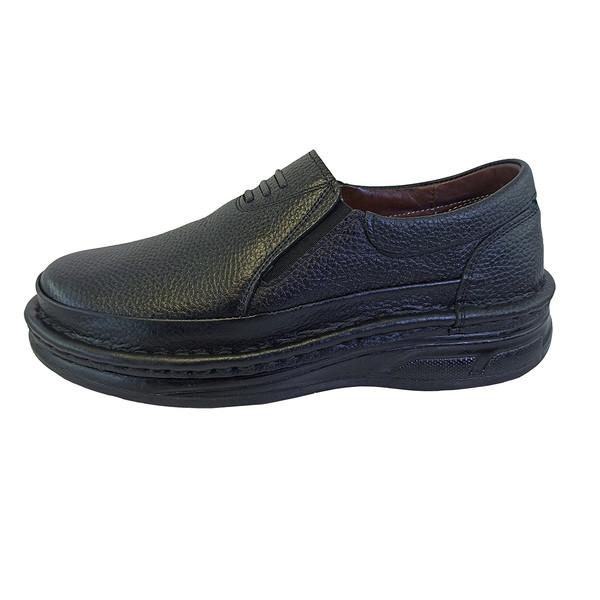 کفش تمام چرم دست دوز مردانه مدل J-HANDMADE-110
