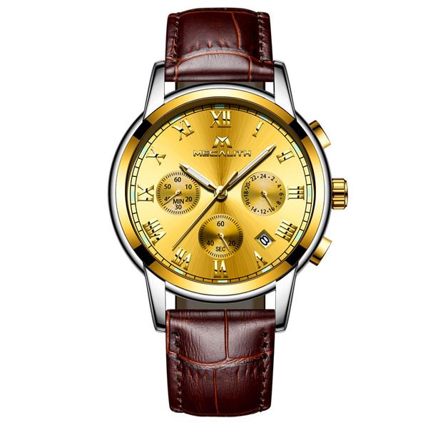 ساعت مچی عقربه ای مردانه مگالیت مدل 0060-bL