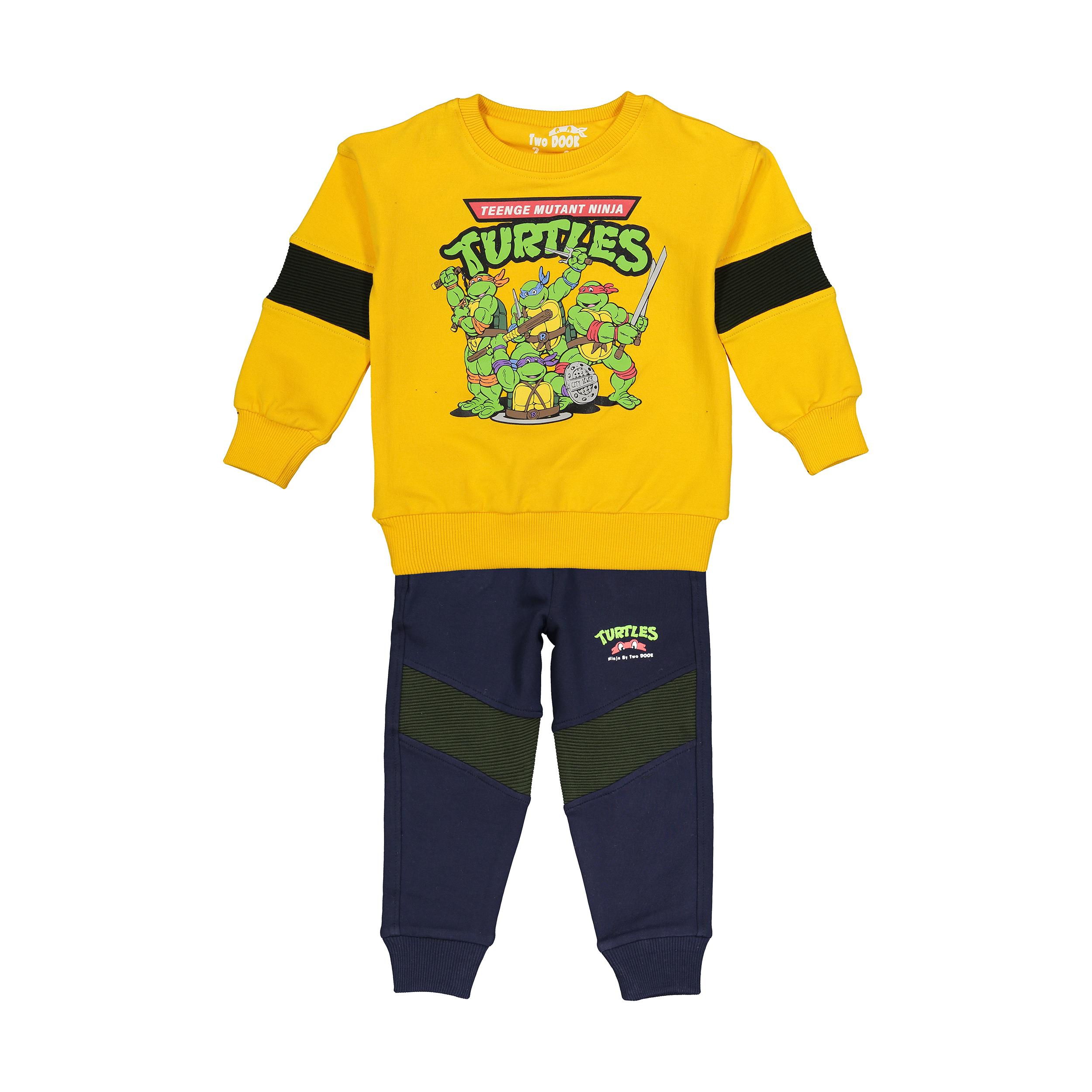 ست سویشرت و شلوار نوزادی تودوک مدل 2151117-16
