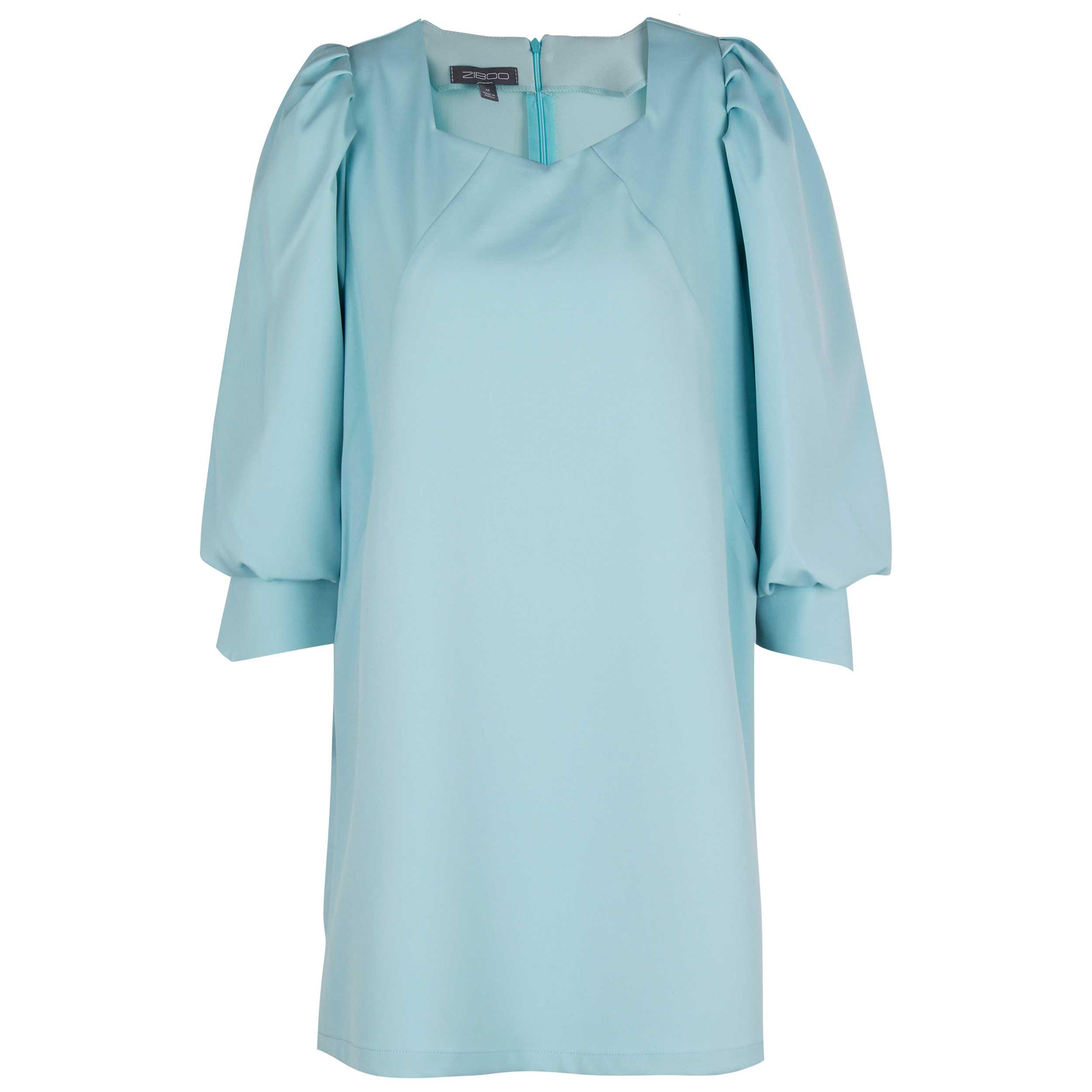 پیراهن زنانه زیبو مدل Angie aqua-BLUE AQUA