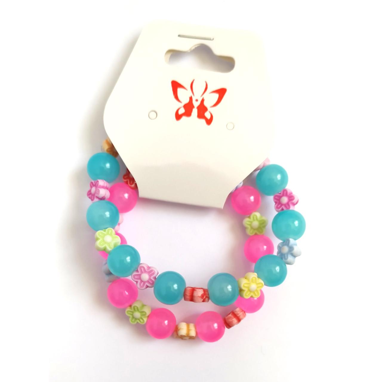 دستبند دخترانه کد DB15 مجموعه 2 عددی main 1 4