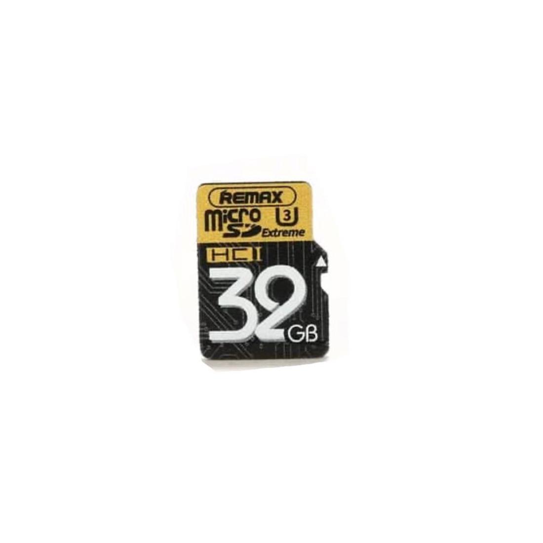 کارت حافظه microSDHC ریمکس مدل EXTREME کلاس 10 استاندارد UHS-3 U3 سرعت 80MBps ظرفیت 32 گیگابایت به همراه آداپتور SD