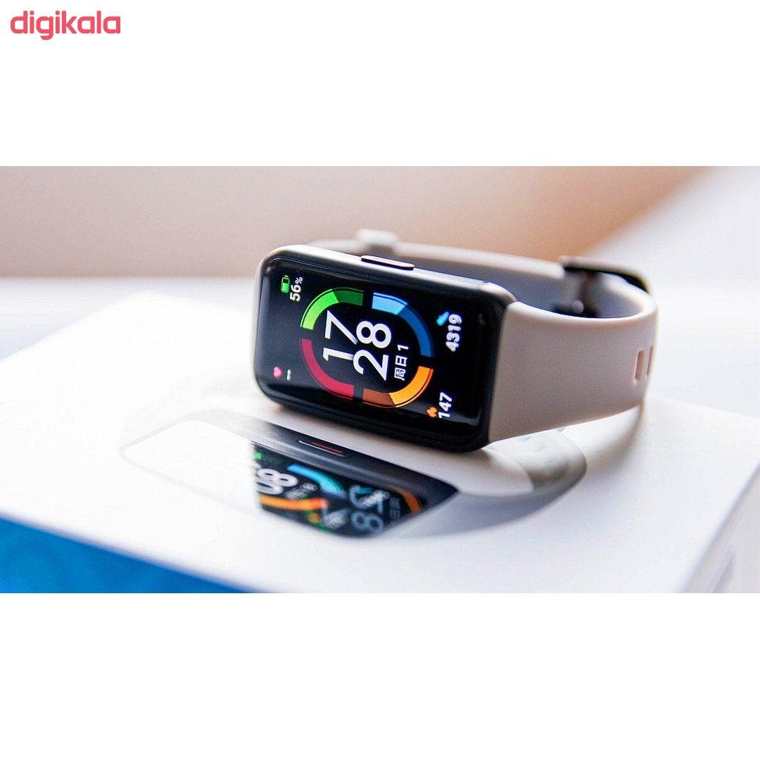 مچ بند هوشمند آنر مدل Band 6 NFC main 1 1