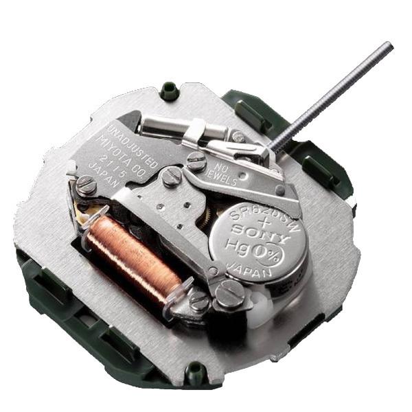 موتور ساعت مچی عقربه ای میوتا مدل M 2115