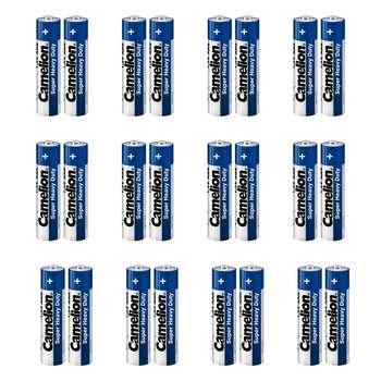 باتری نیم قلمی کملیون مدل Super Heavy Duty بسته 24 عددی