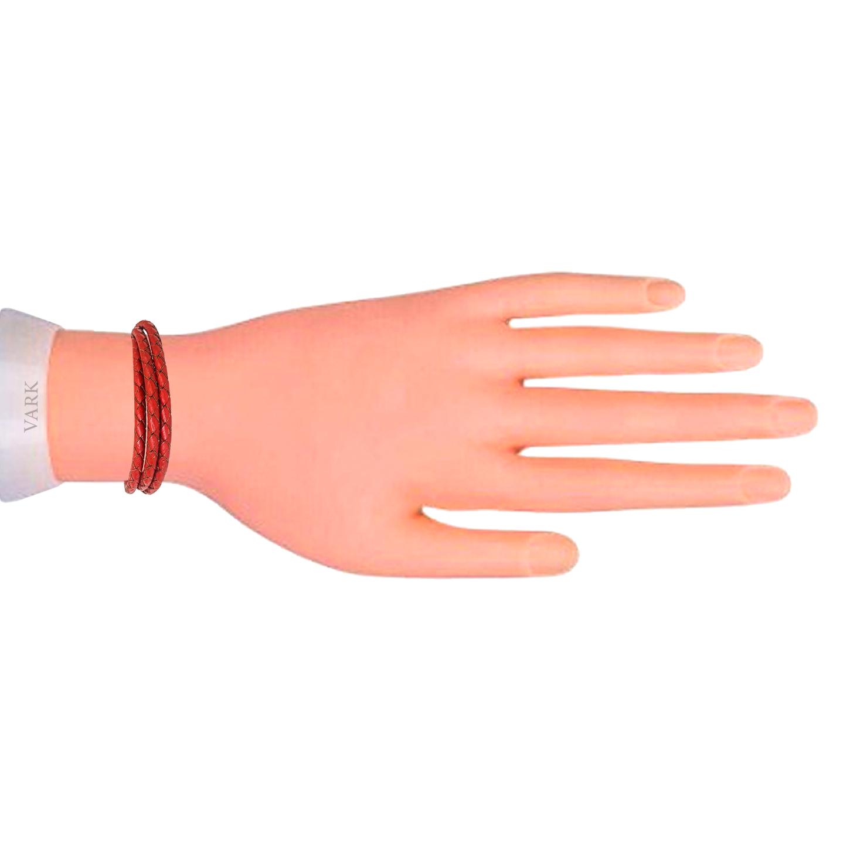 دستبند چرم وارک مدل رادینکدrb303 main 1 4
