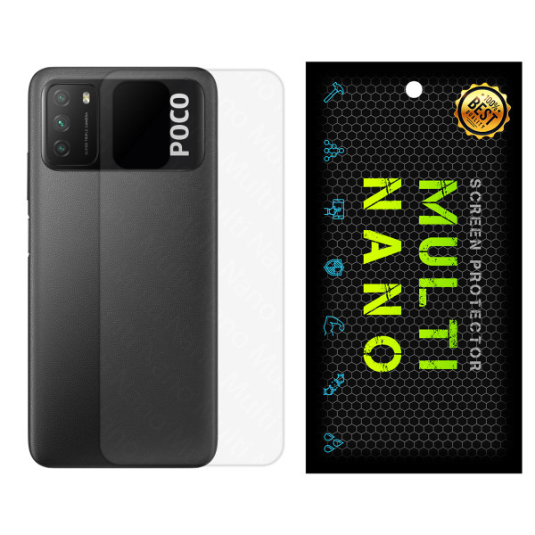 محافظ پشت گوشی مات مولتی نانو مدل Pro مناسب برای گوشی موبایل شیائومی Poco M3