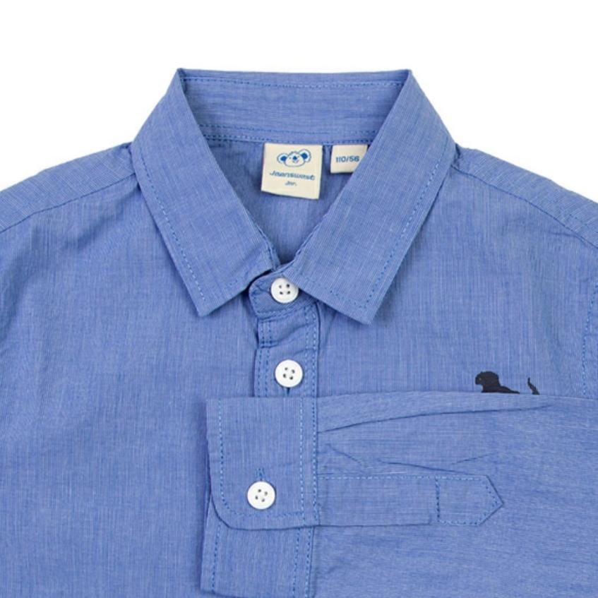 پیراهن پسرانه جین وست مدل 3278
