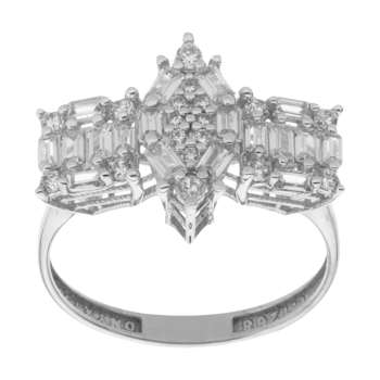 انگشتر طلا 18 عیار زنانه مایا ماهک مدل MR0433