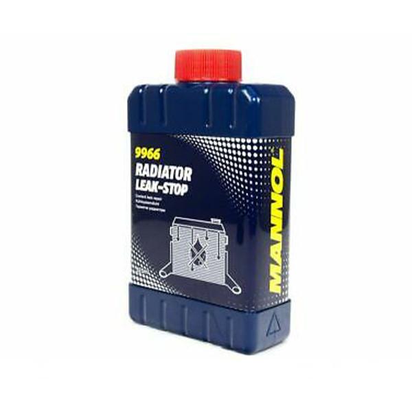 محلول نشتگیر رادیاتور خودرو مانل مدل Radiator Leak-Stop 9966 حجم 325 میلی لیتر