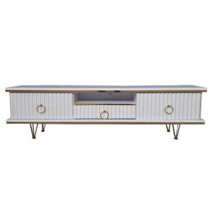 میز تلویزیون مدل پایه فلزی کد 150