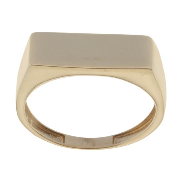 انگشتر طلا 18 عیار زنانه میو گلد مدل GD1182-57
