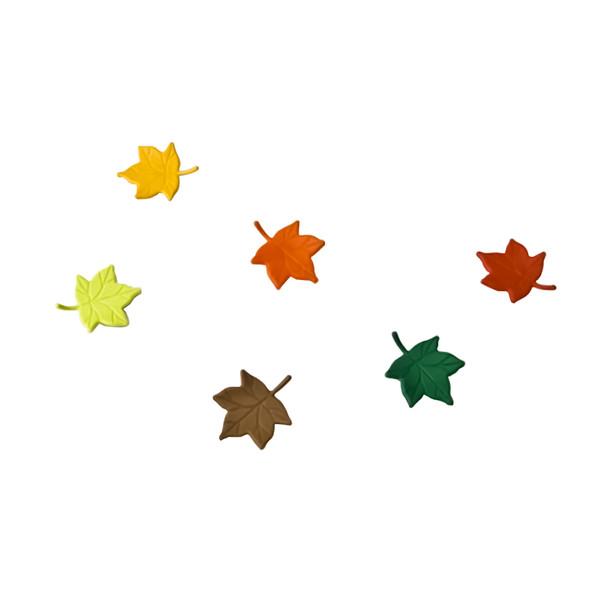 نشانگر تزئینی لیوان کوالی مدل Leaf کد 10104 مجموعه 6 عددی