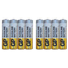 باتری نیم قلمی جی پی مدل 003A.B بسته 8 عددی
