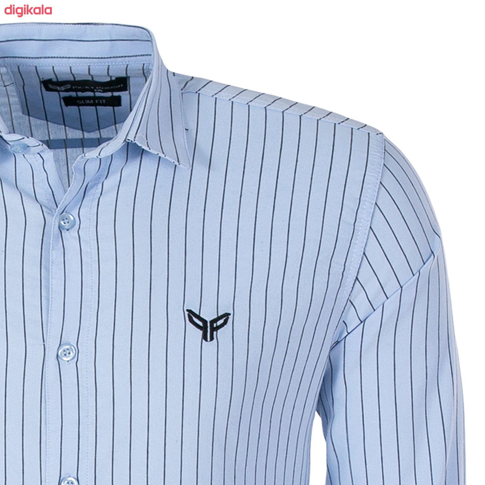 پیراهن مردانه پیکی پوش مدل M02347 main 1 3