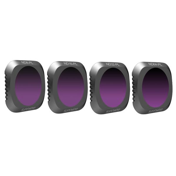 فیلتر لنز سانی لایف مدل CHT9136 مناسب برای پهباد دی جی آی MAVIC 2 PRO مجموعه 4 عددی