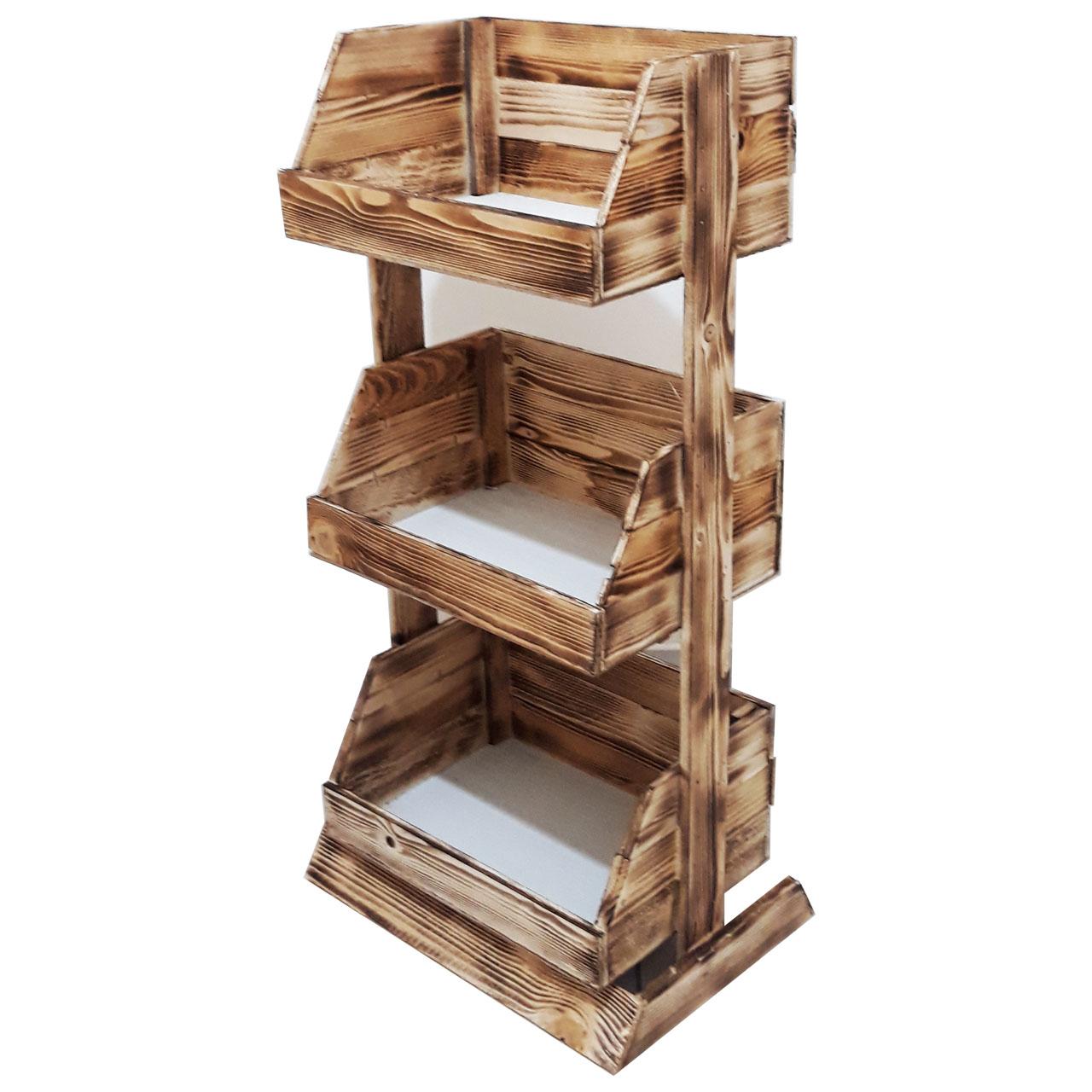 قفسه چوبی کد 079