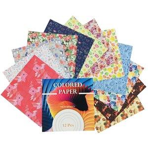 کاغذ اوریگامی مدل رنگین کد 500 Z بسته 48 عددی