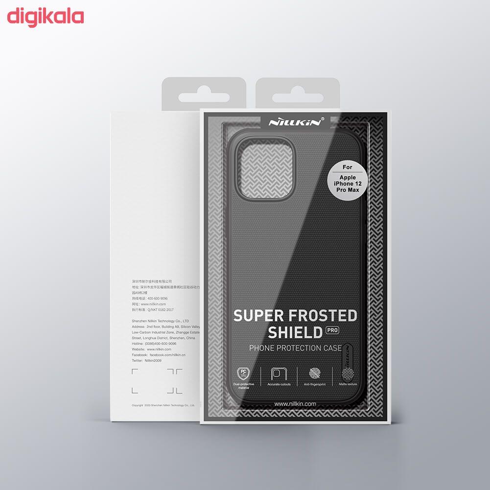 کاور نیلکین مدل  Frosted Shield Pro مناسب برای گوشی موبایل اپل Iphone 12 Pro Max main 1 1