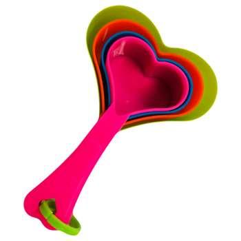 پیمانه اندازه گیری مدل قلبی بسته ۴ عددی