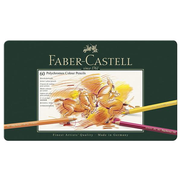 مداد رنگی 60 رنگ فابرکاستل مدل پلی کروم