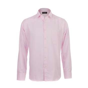 پیراهن آستین بلند مردانه ناوالس مدل PK3-8020-PK