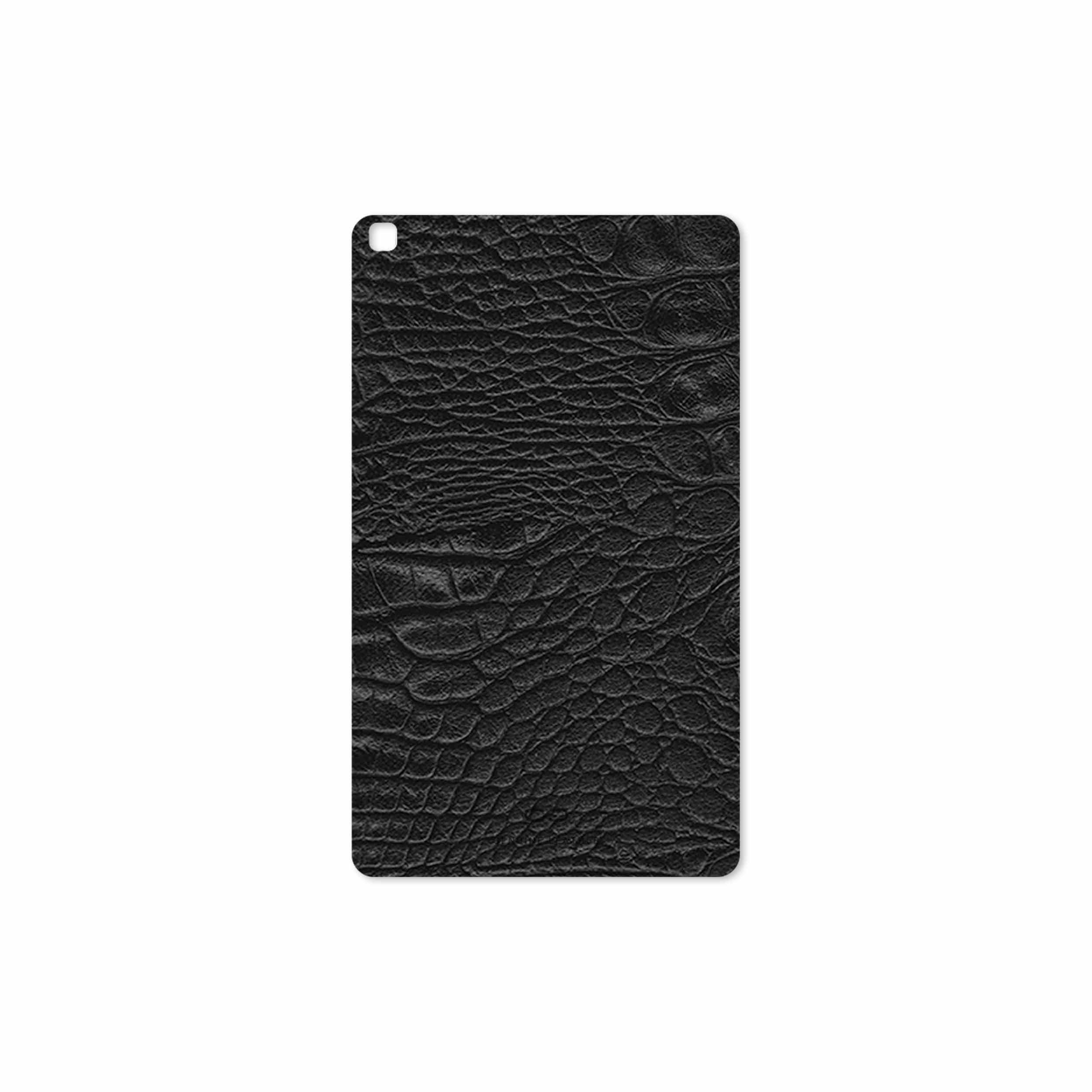بررسی و خرید [با تخفیف]                                     برچسب پوششی ماهوت مدل Black-Crocodile-Leather مناسب برای تبلت سامسونگ Galaxy Tab A 8.0 2019 T290                             اورجینال