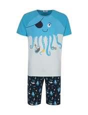 ست تی شرت و شلوارک راحتی مردانه مادر مدل 2041107-52 -  - 1
