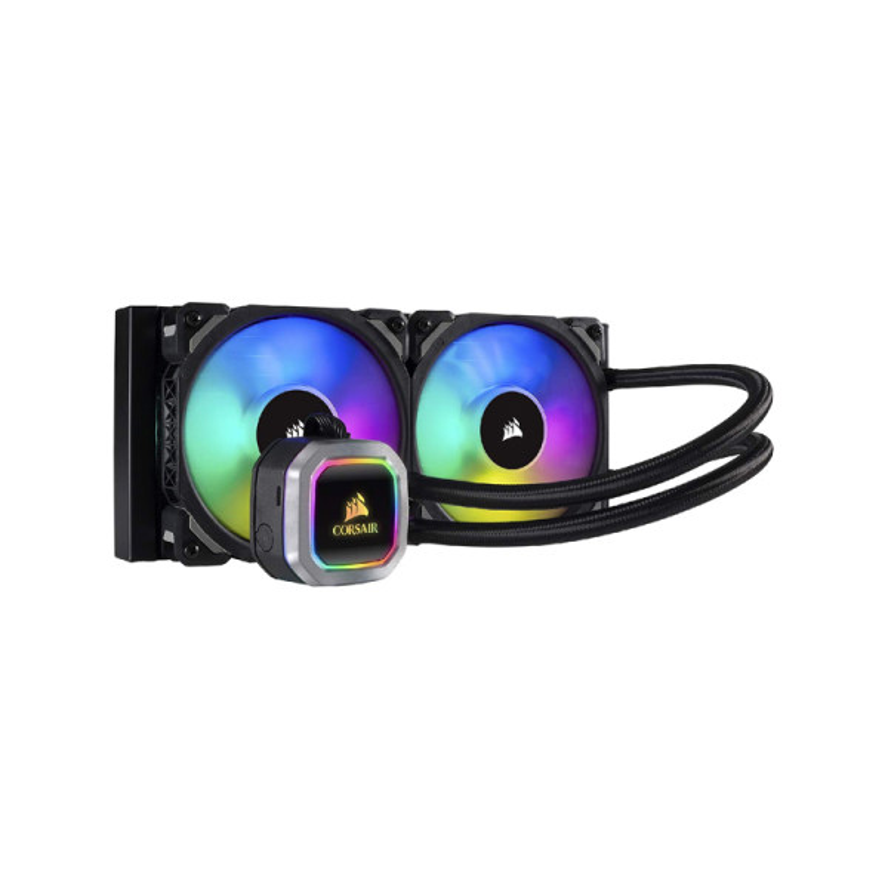 فن خنک کننده پردازنده کورسیر مدل H100i RGB PLATINUM