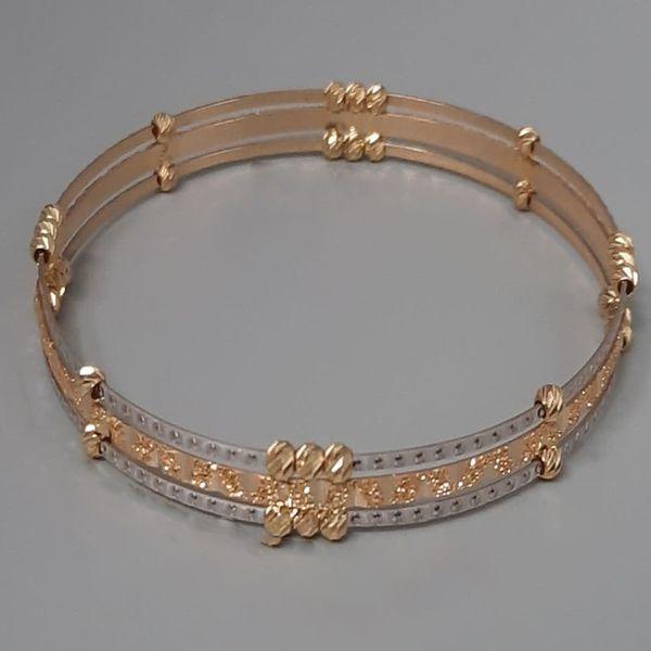 النگو طلا 18 عیار زنانه گالری یارطلا کد AL45-G-3