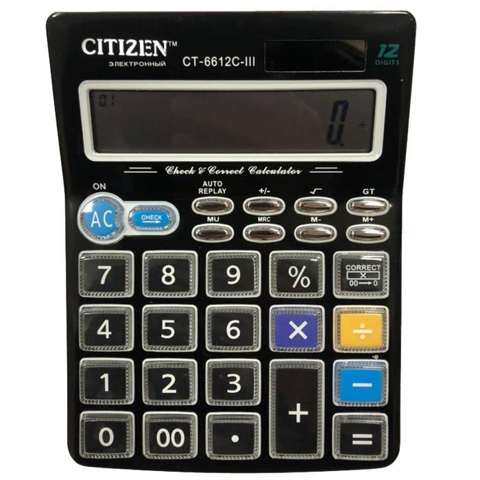 ماشین حساب مدل CT-6612C                     غیر اصل