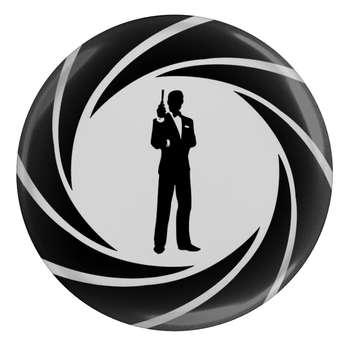 پیکسل طرح جیمز باند 007 مدل S1843
