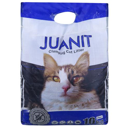 خاک بستر گربه ژوانیت کد 011 وزن 10 کیلوگرم