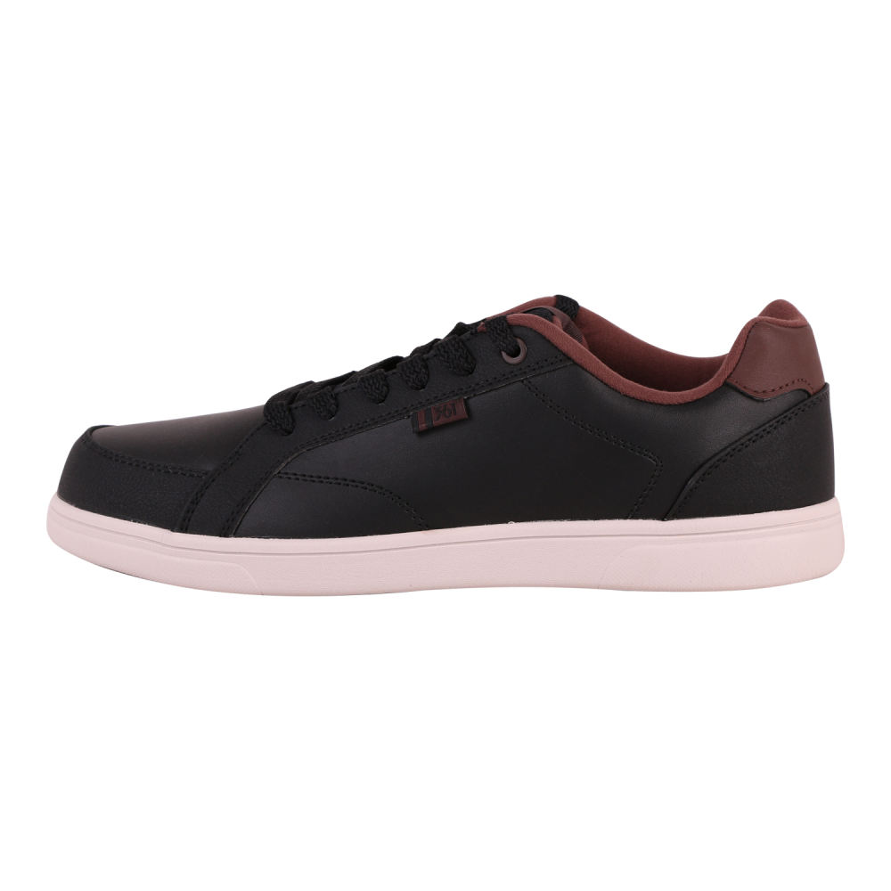 کفش راحتی مردانه 361 درجه مدل 571446631 رنگ قهوه ای تیره