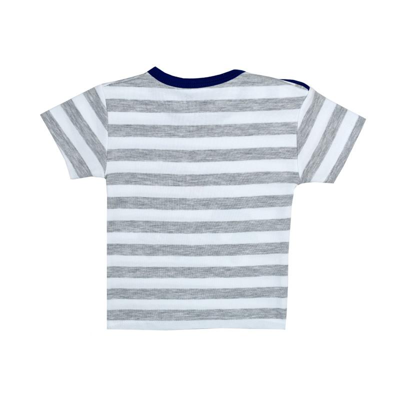 تی شرت آستین کوتاه نوزادی بی بی وان مدل ماشین کد 1