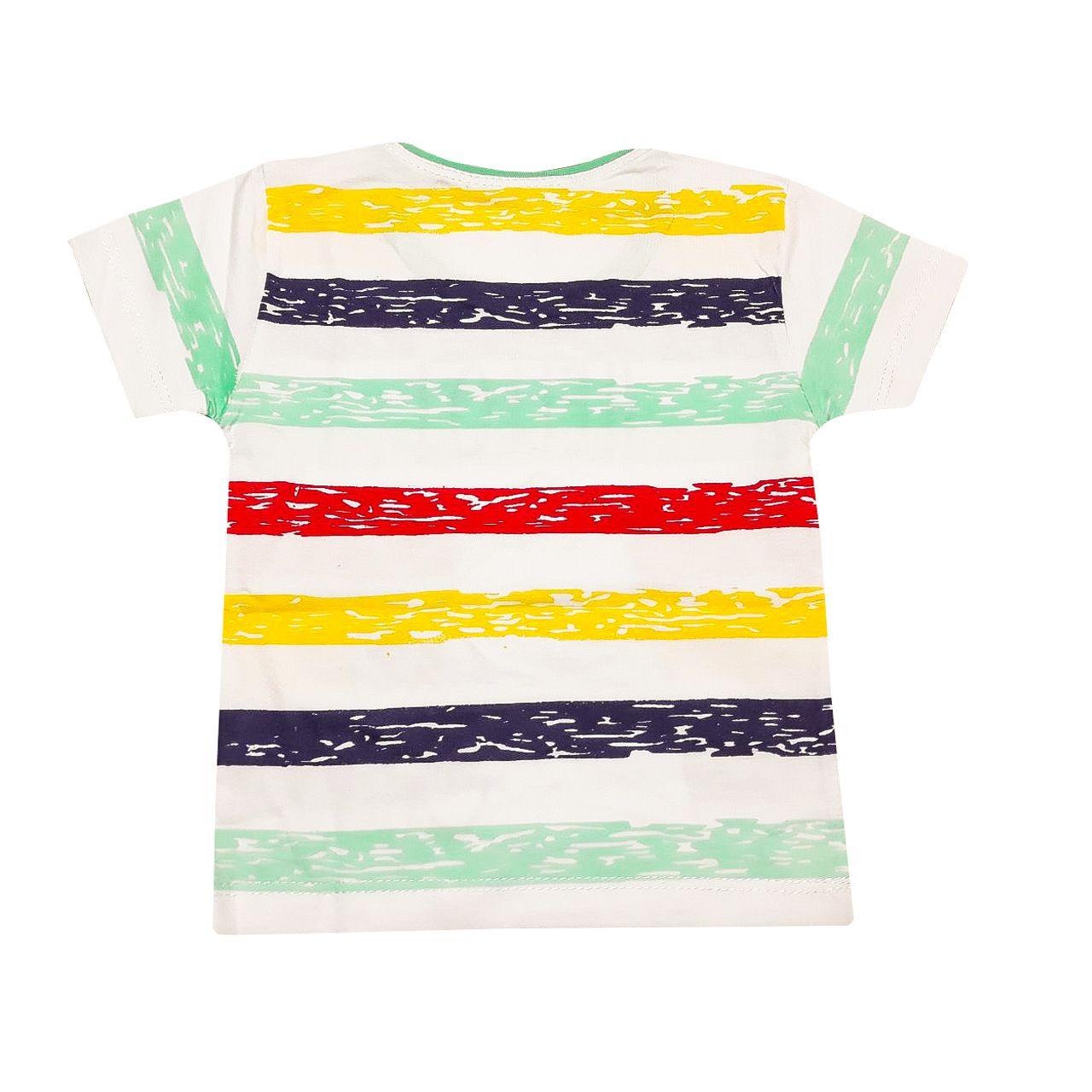 ست تی شرت و شلوارک پسرانه کد S -  - 3