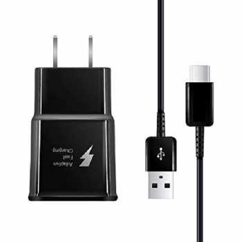 شارژر دیواری مدل +Galaxy S10 به همراه کابل تبدیل USB-C