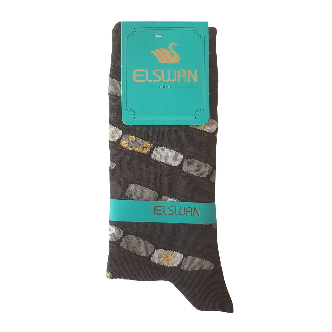 جوراب زنانه ال سون طرح دوربین کد PH415 -  - 5