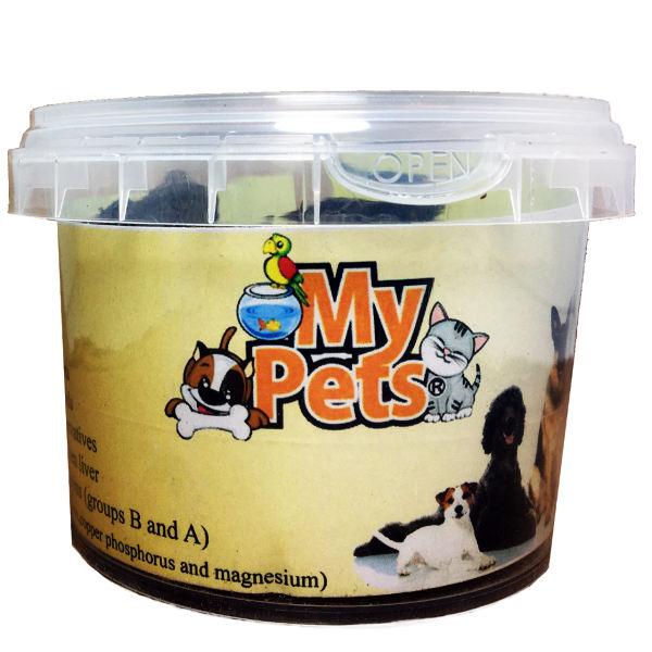 غذای تشویقی سگ و گربه مای پتز مدل Liver وزن 100 گرم