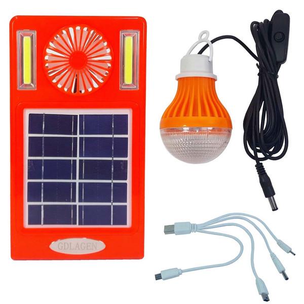 سیستم روشنایی خورشیدی جی لادن مدل GM-007 کدN-997