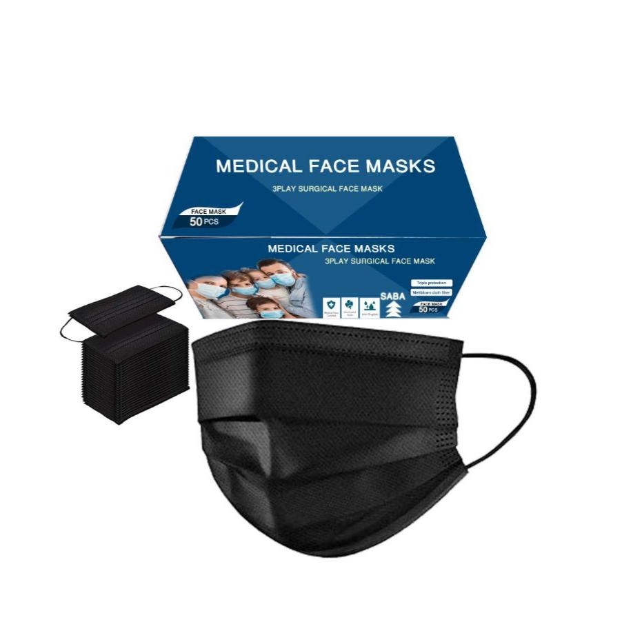 ماسک تنفسی مدل 2 مجموعه ۵۰ عددی