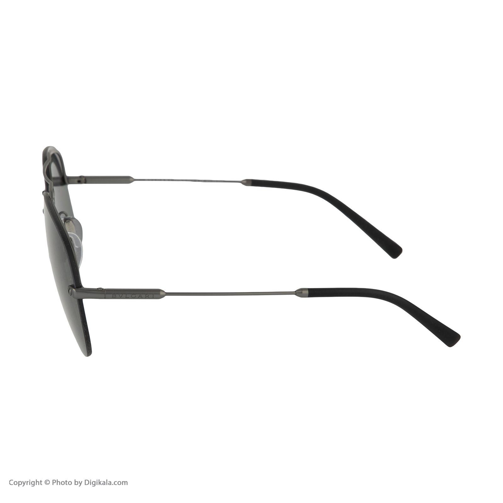 عینک آفتابی مردانه بولگاری مدل BV5044S 19581 -  - 6