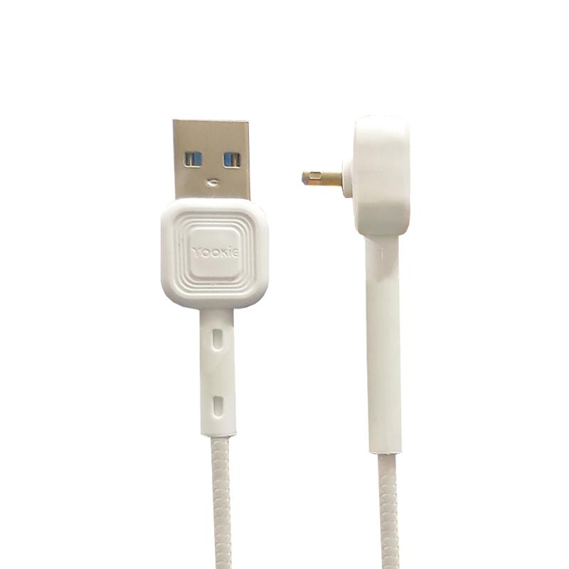 کابل تبدیل USB به لایتنینگ یوکی مدل CB8 طول 1 متر