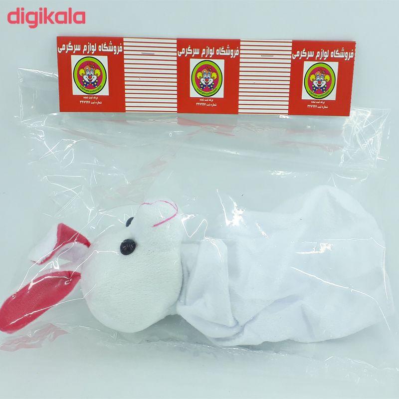 عروسک نمایشی دنیای سرگرمی های کمیاب طرح خرگوش مدل DSK-A62