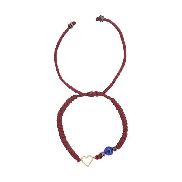 دستبند طلا 18 عیار زنانه نیوانی مدل Ba1022