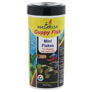 غذای ماهی مالزی مدل گوپی فیش وزن 50 گرم